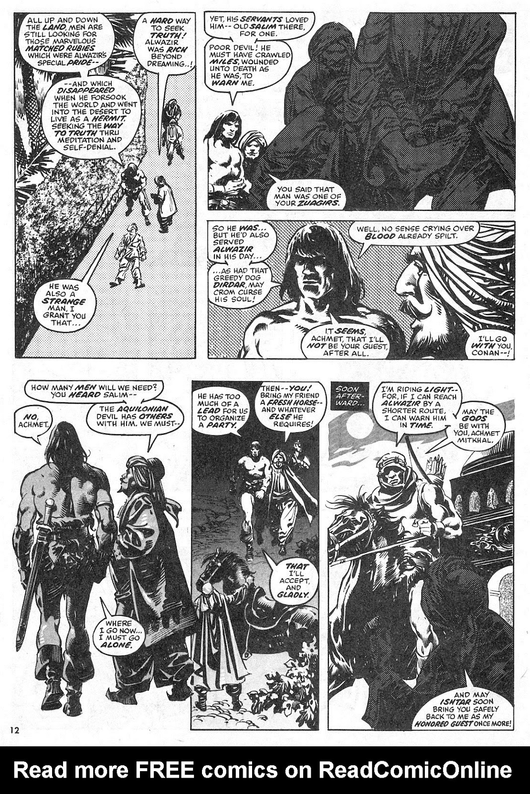 The Savage Sword Of Conan Issue #28 #29 - English 12