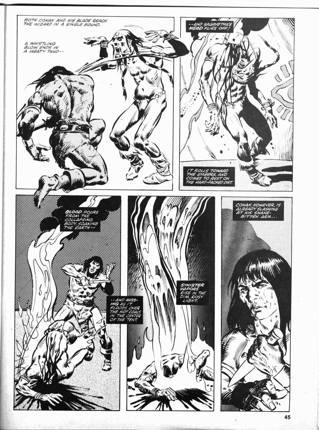 The Savage Sword Of Conan Issue #46 #47 - English 44