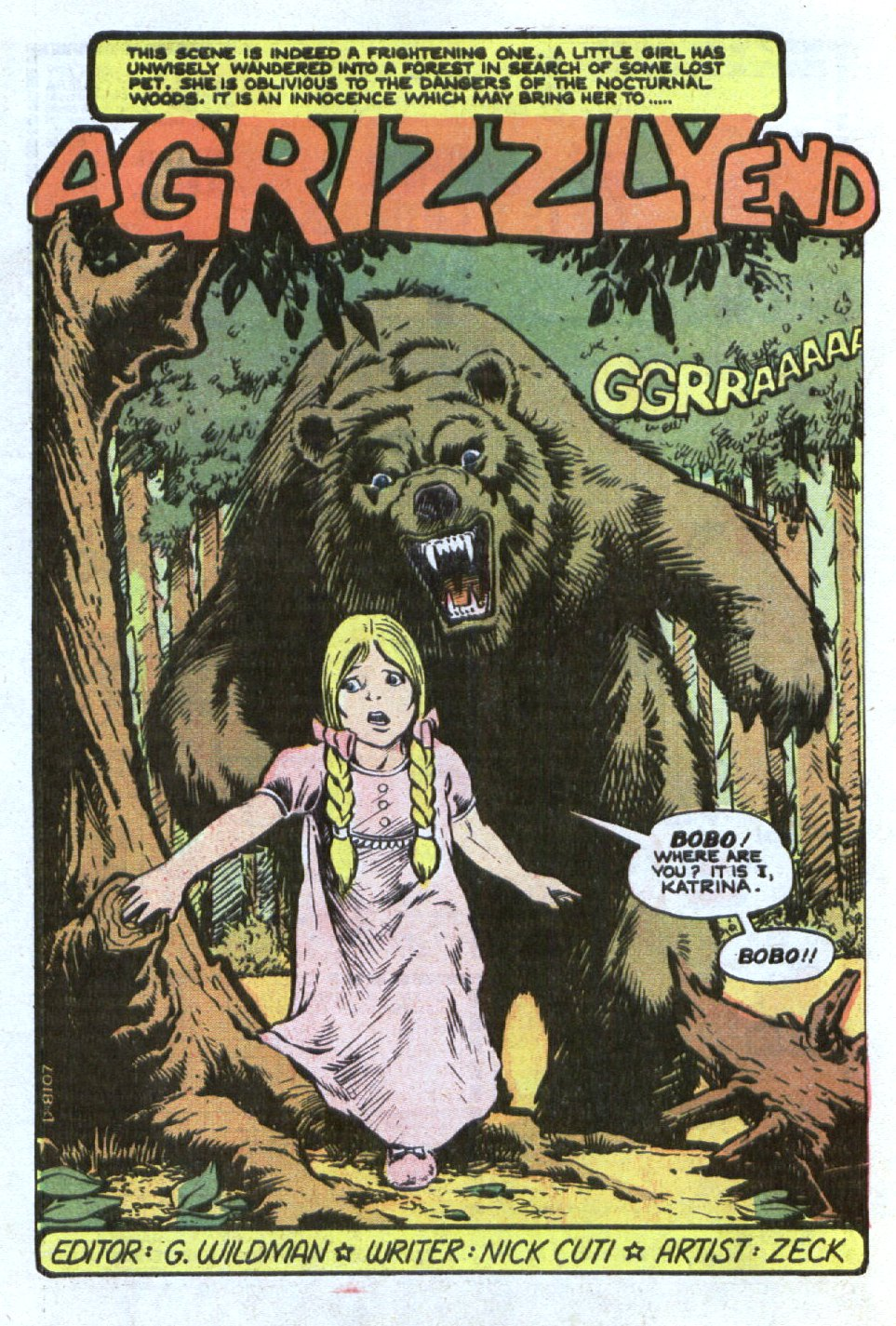 Read online Scary Tales comic -  Issue #21 - 24
