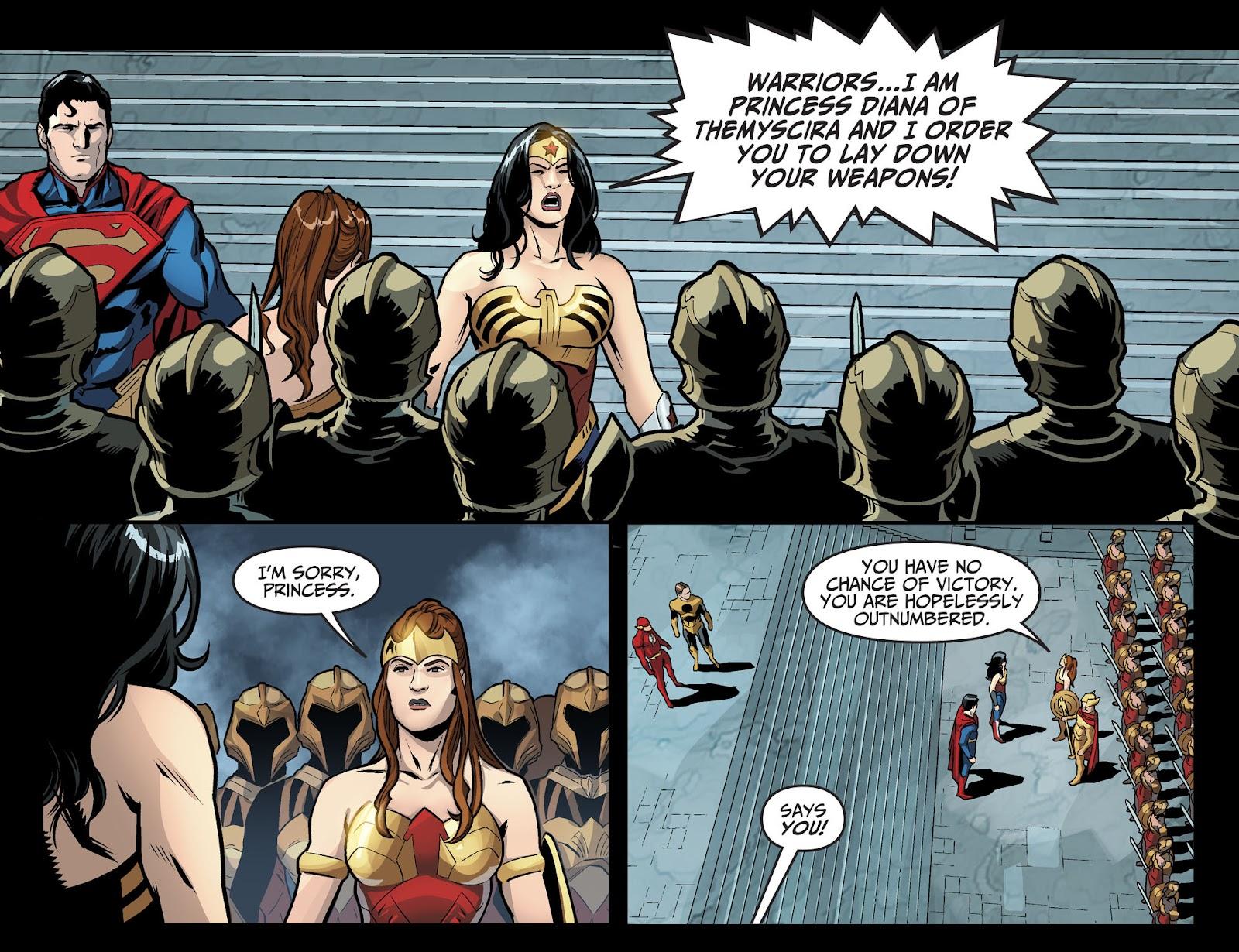 Injustice: Gods Among Us Year Four Issue #6 #7 - English 19