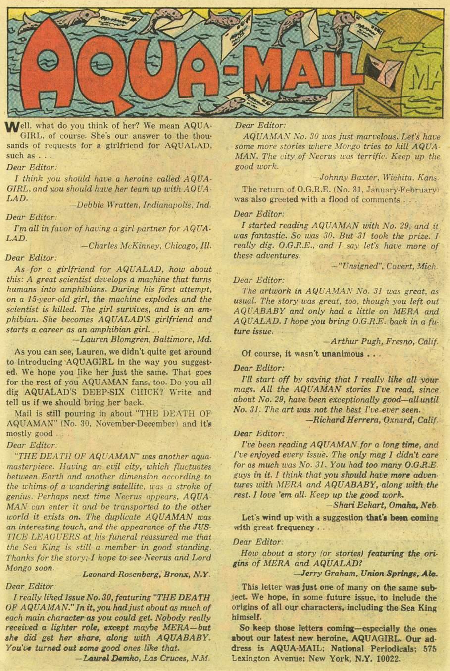 Aquaman (1962) Issue #33 #33 - English 13