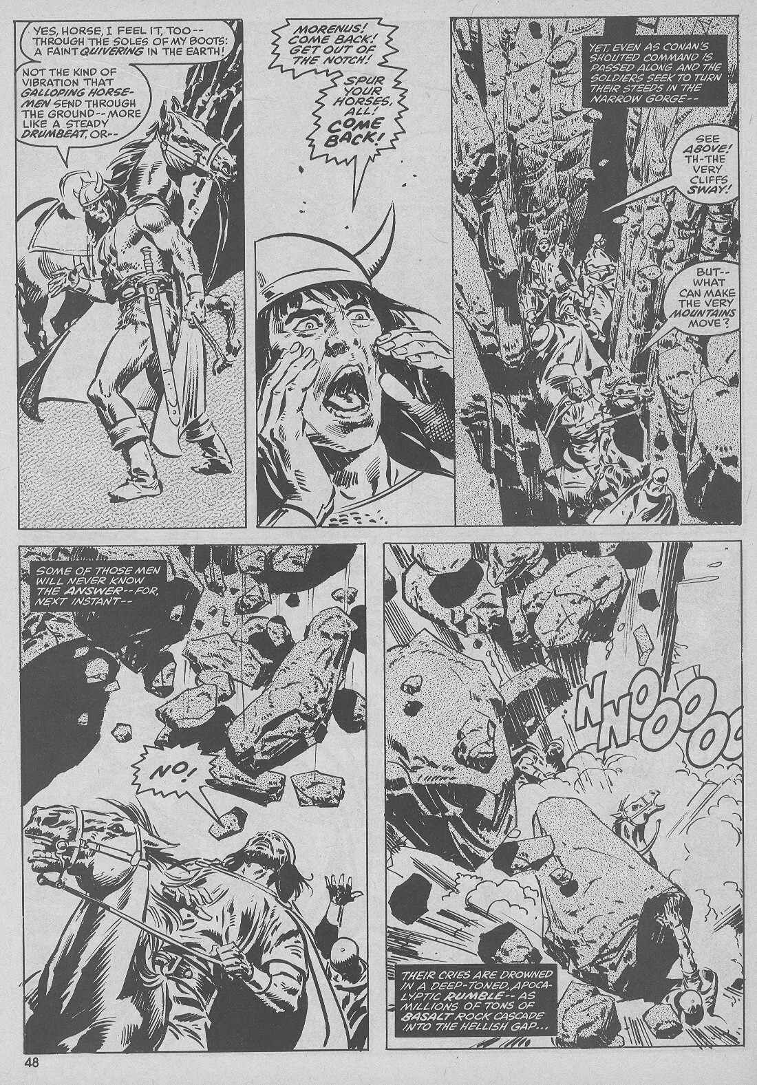 The Savage Sword Of Conan Issue #51 #52 - English 48