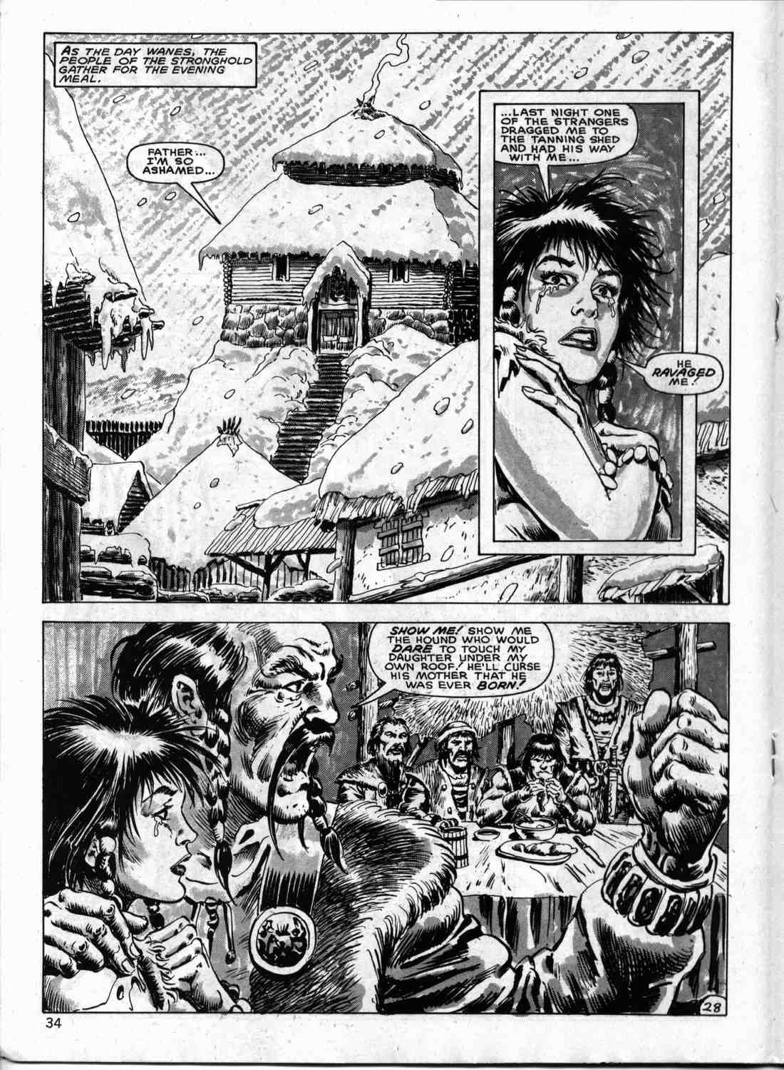 The Savage Sword Of Conan Issue #133 #134 - English 33
