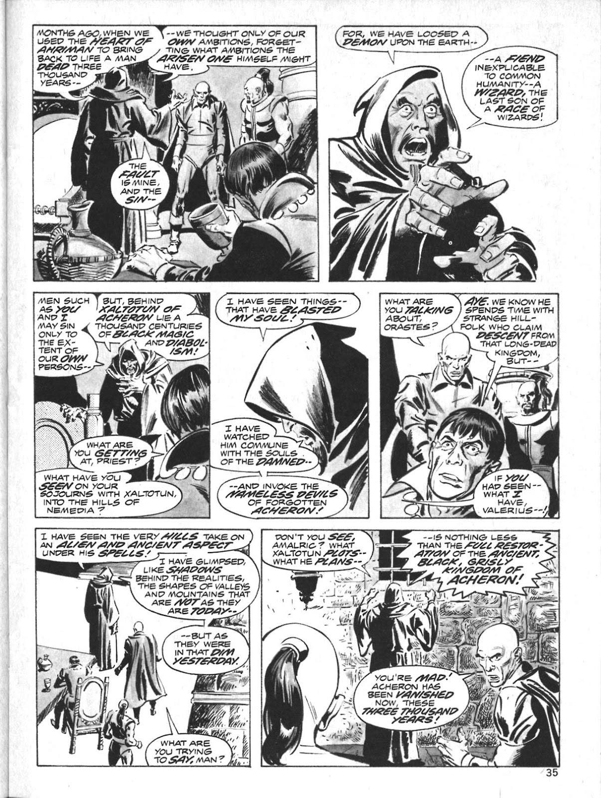 The Savage Sword Of Conan Issue #10 #11 - English 27