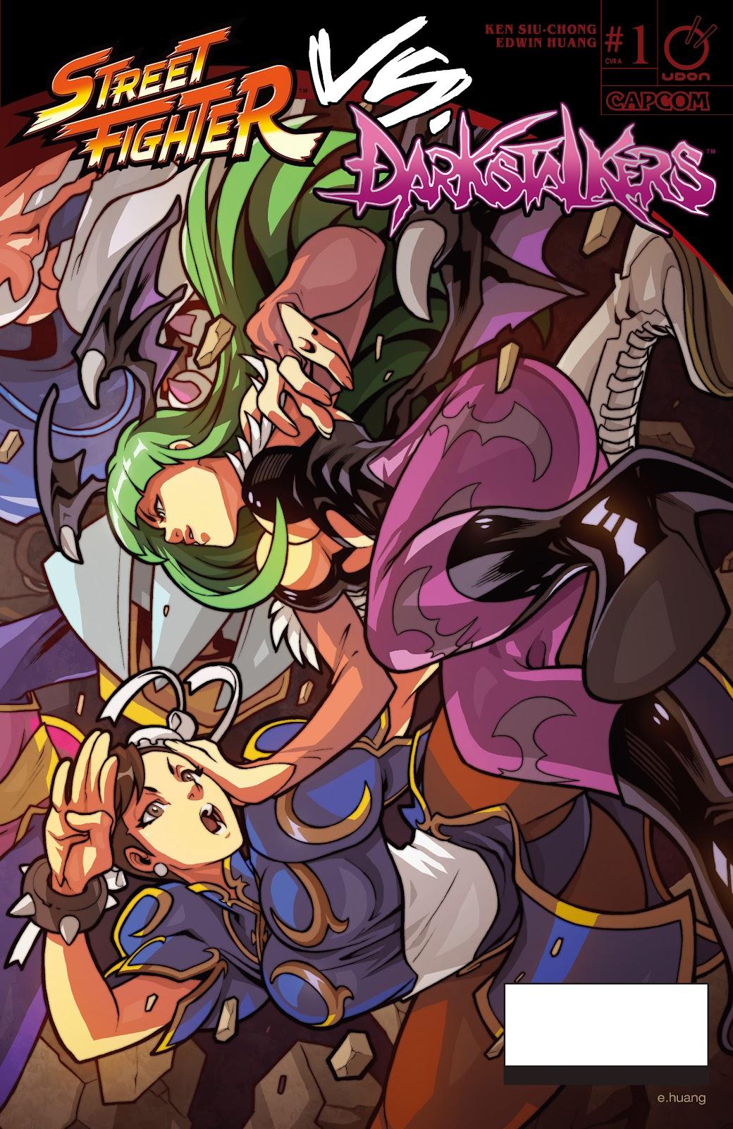 Street Fighter VS Darkstalkers Issue #1 #2 - English 1