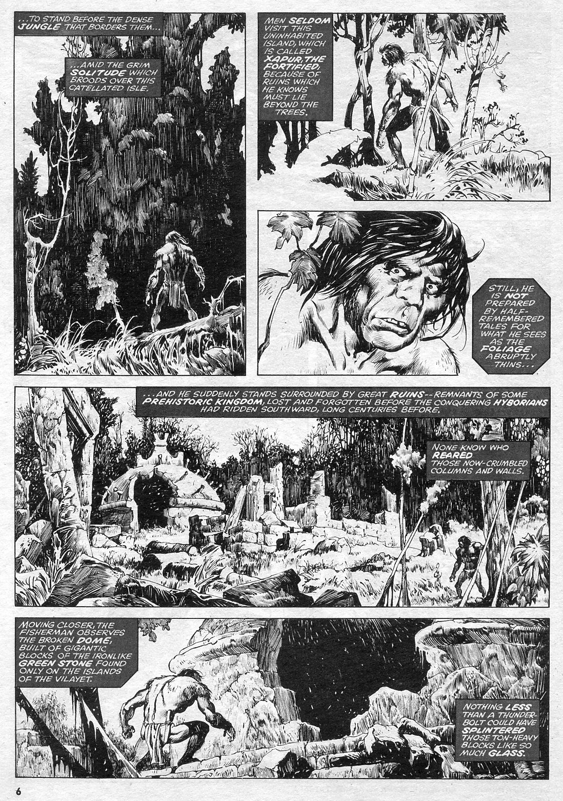 The Savage Sword Of Conan Issue #15 #16 - English 6