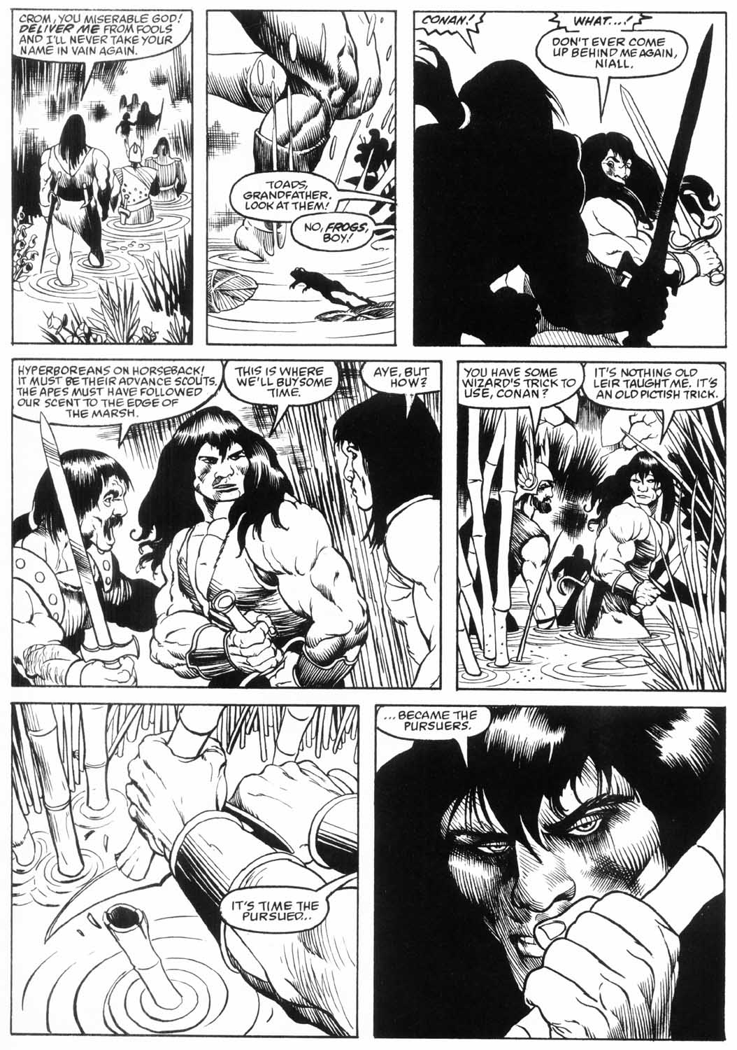 The Savage Sword Of Conan Issue #157 #158 - English 20