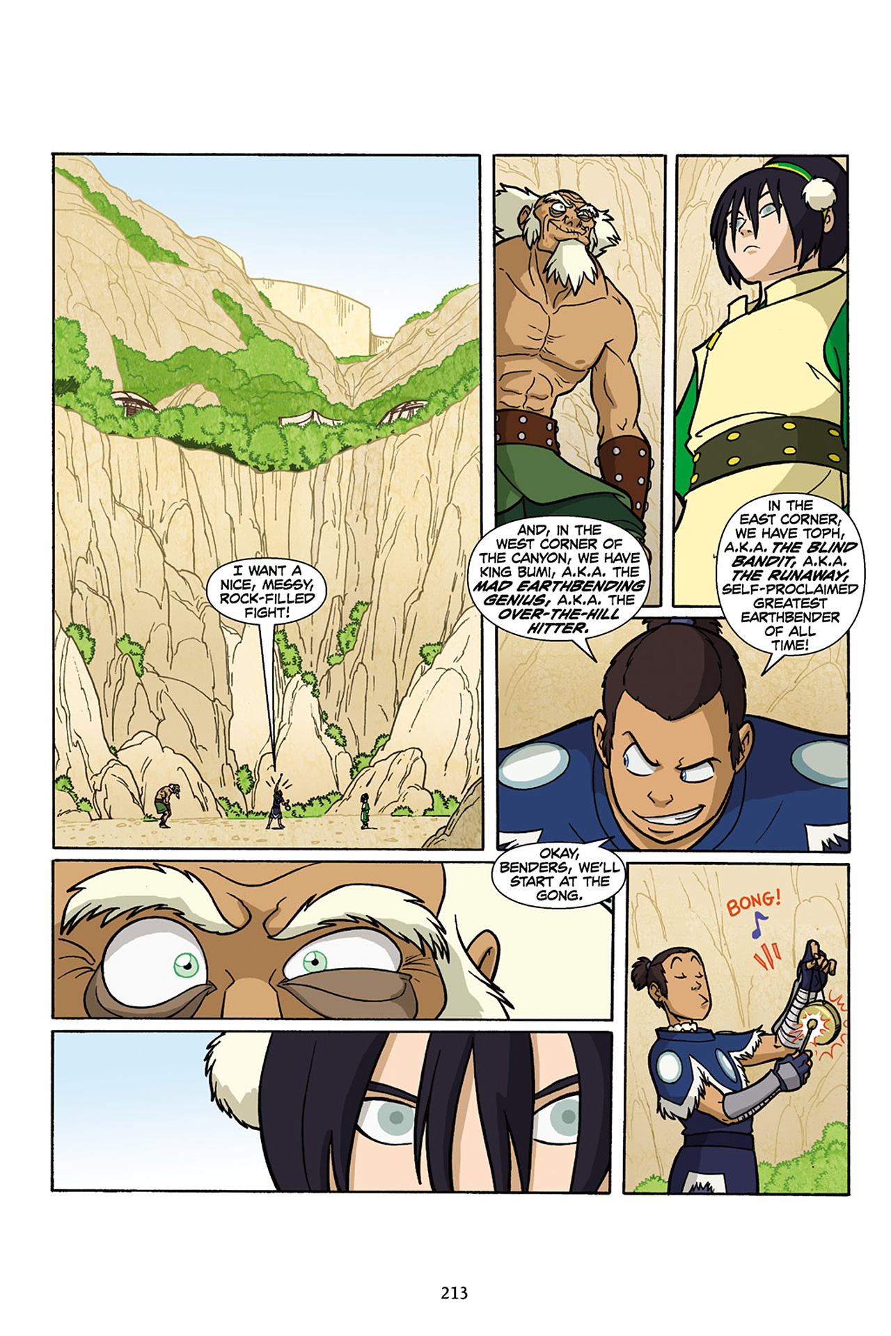 Nickelodeon Avatar: The Last Airbender - The Lost Adventures chap full pic 214