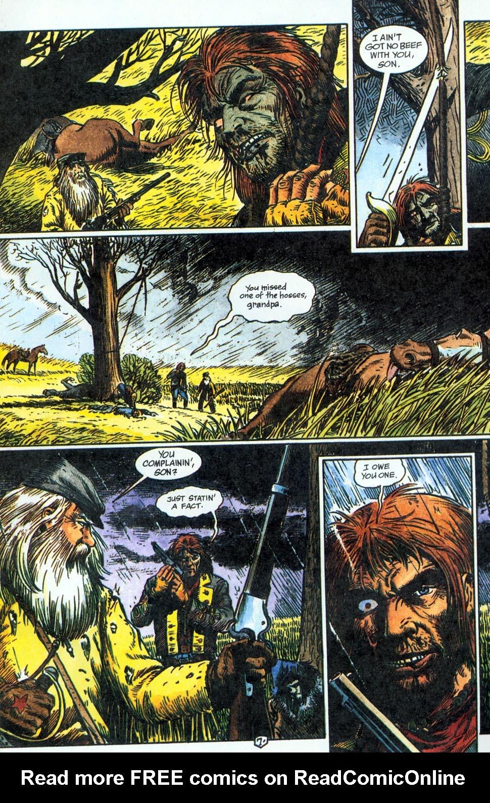 Jonah Hex: Two-Gun Mojo Issue #1 #1 - English 9