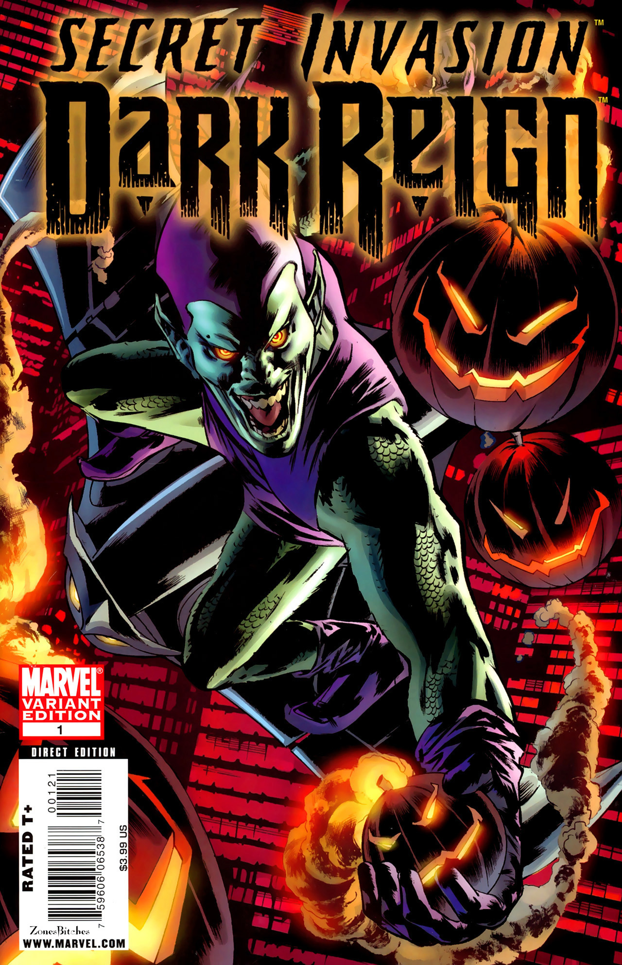 Read online Secret Invasion: Dark Reign comic -  Issue # Full - 2