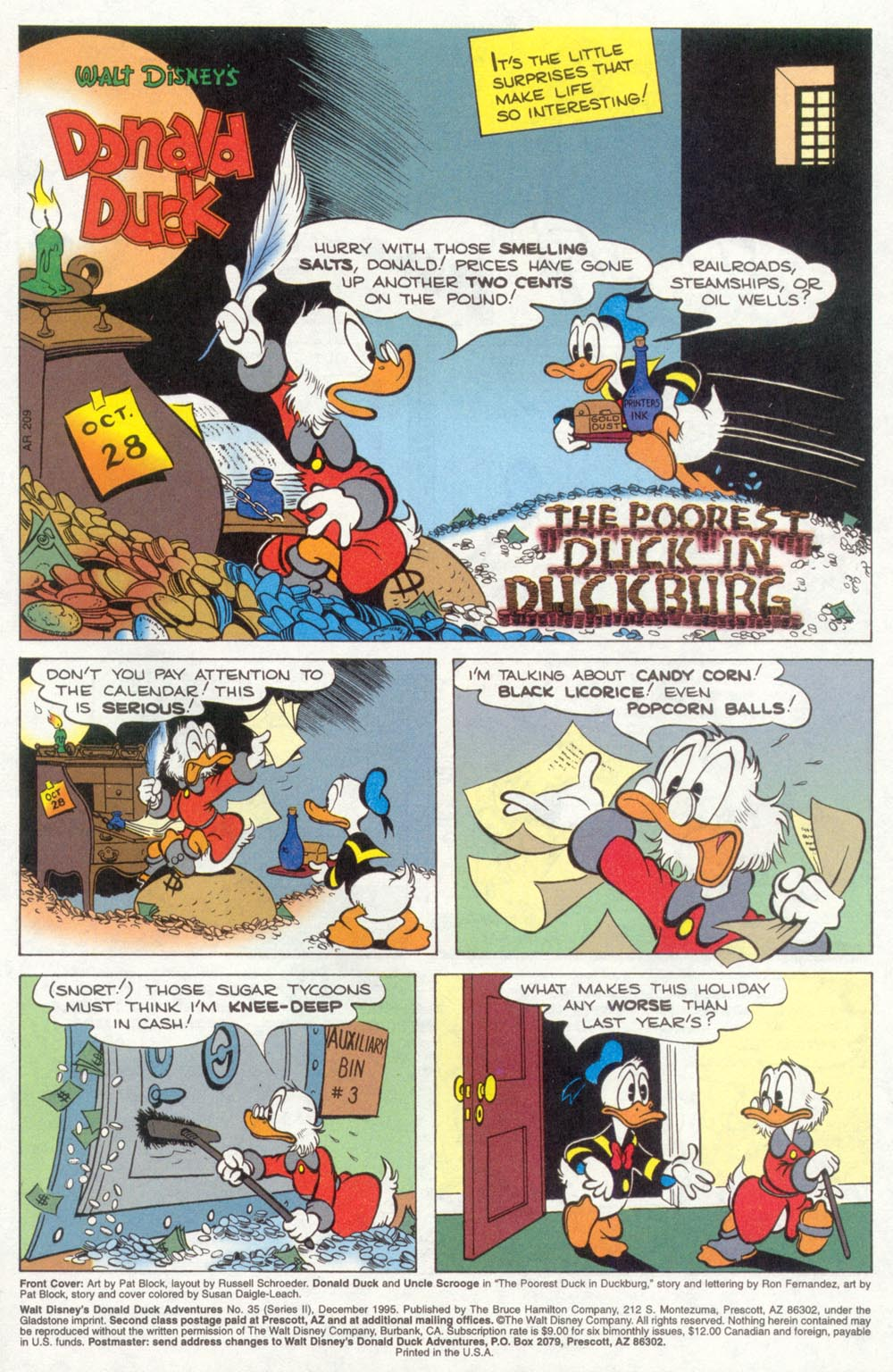 Walt Disney's Donald Duck Adventures (1987) Issue #35 #35 - English 2