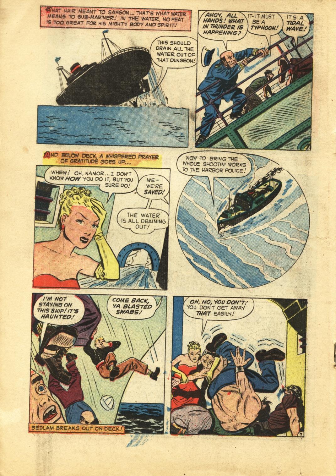 Sub-Mariner Comics #29 #29 - English 17