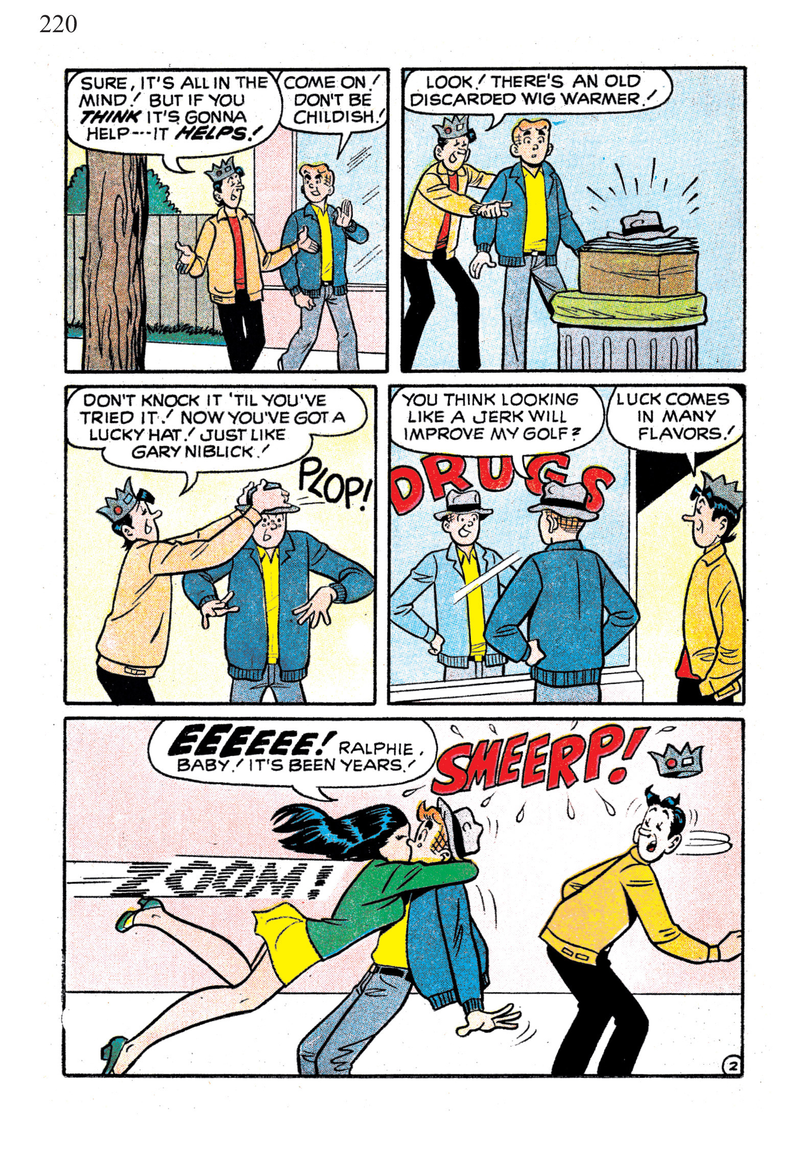 Read online The Best of Archie Comics comic -  Issue # TPB 1 (Part 1) - 216