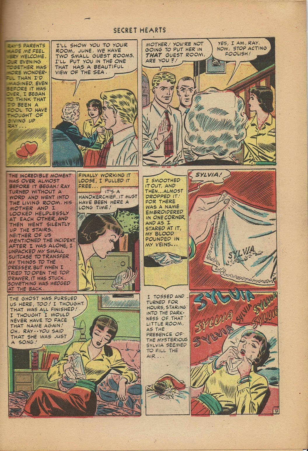 Read online Secret Hearts comic -  Issue #2 - 19