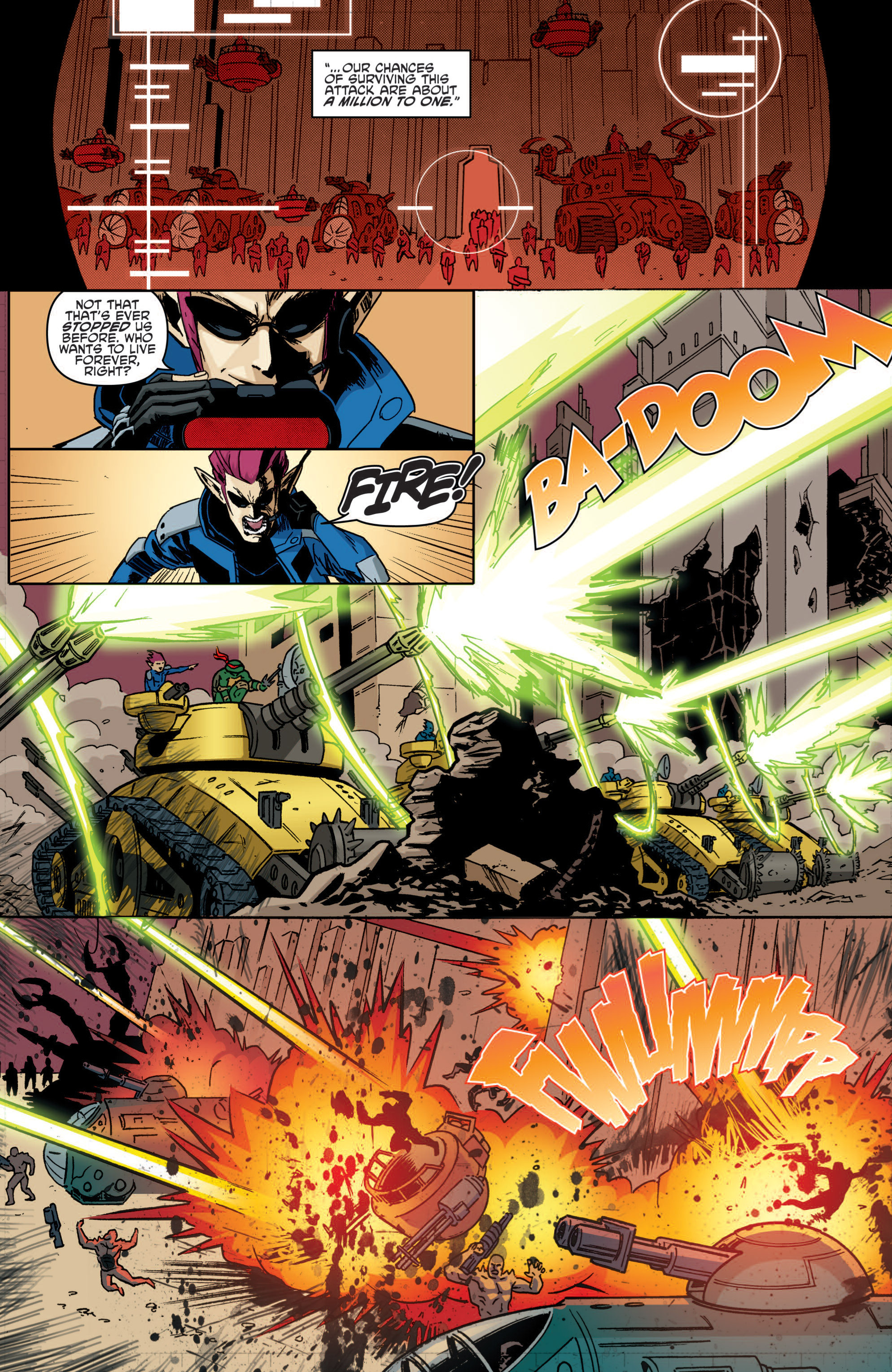 Read online Teenage Mutant Ninja Turtles (2011) comic -  Issue #19 - 21