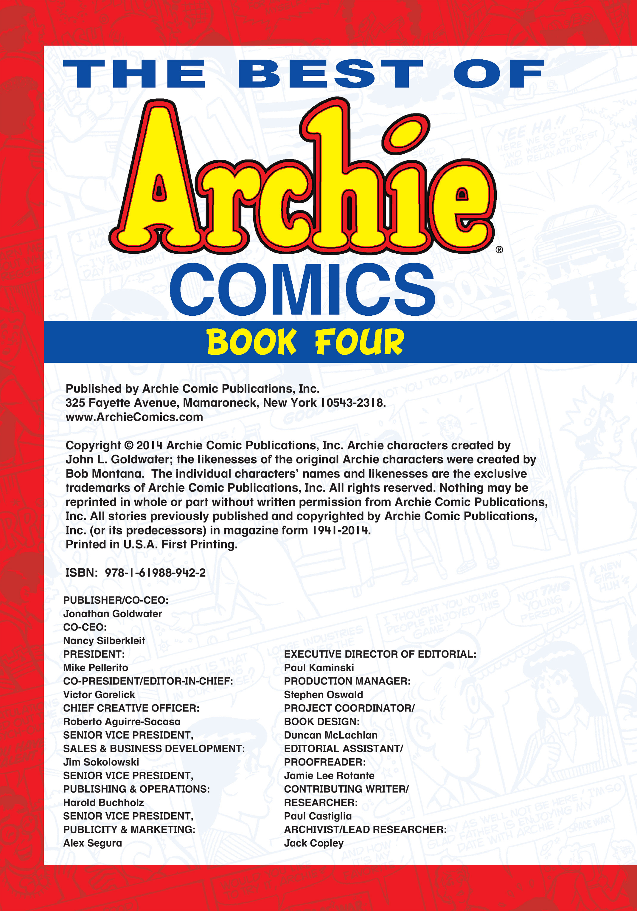 Read online The Best of Archie Comics comic -  Issue # TPB 4 (Part 1) - 3