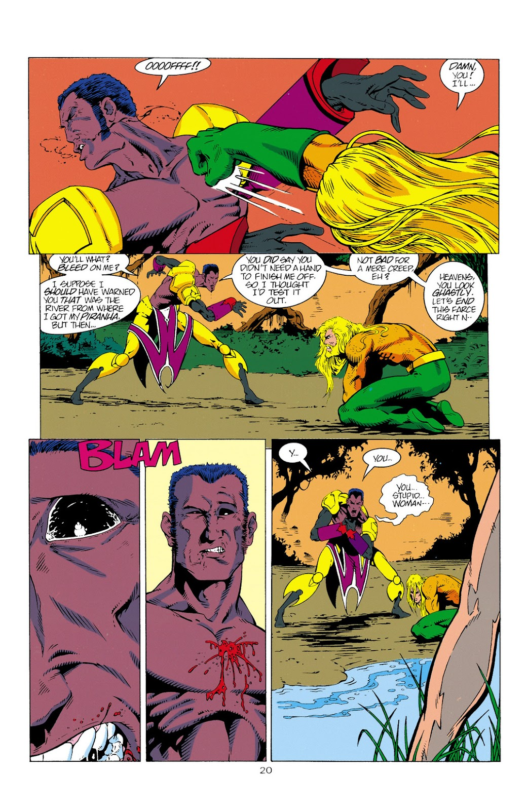 Aquaman (1994) Issue #2 #8 - English 21