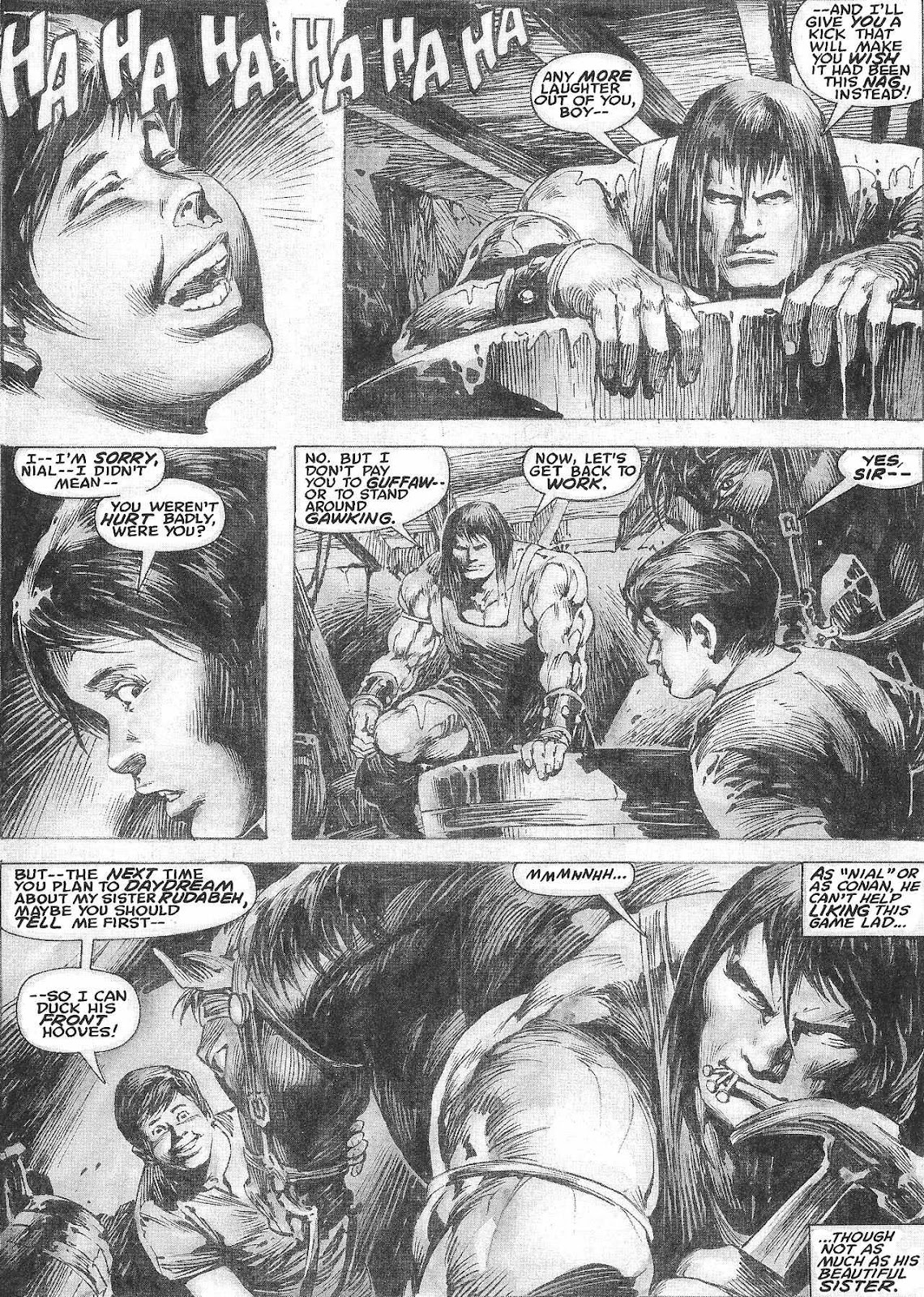 The Savage Sword Of Conan Issue #209 #210 - English 5