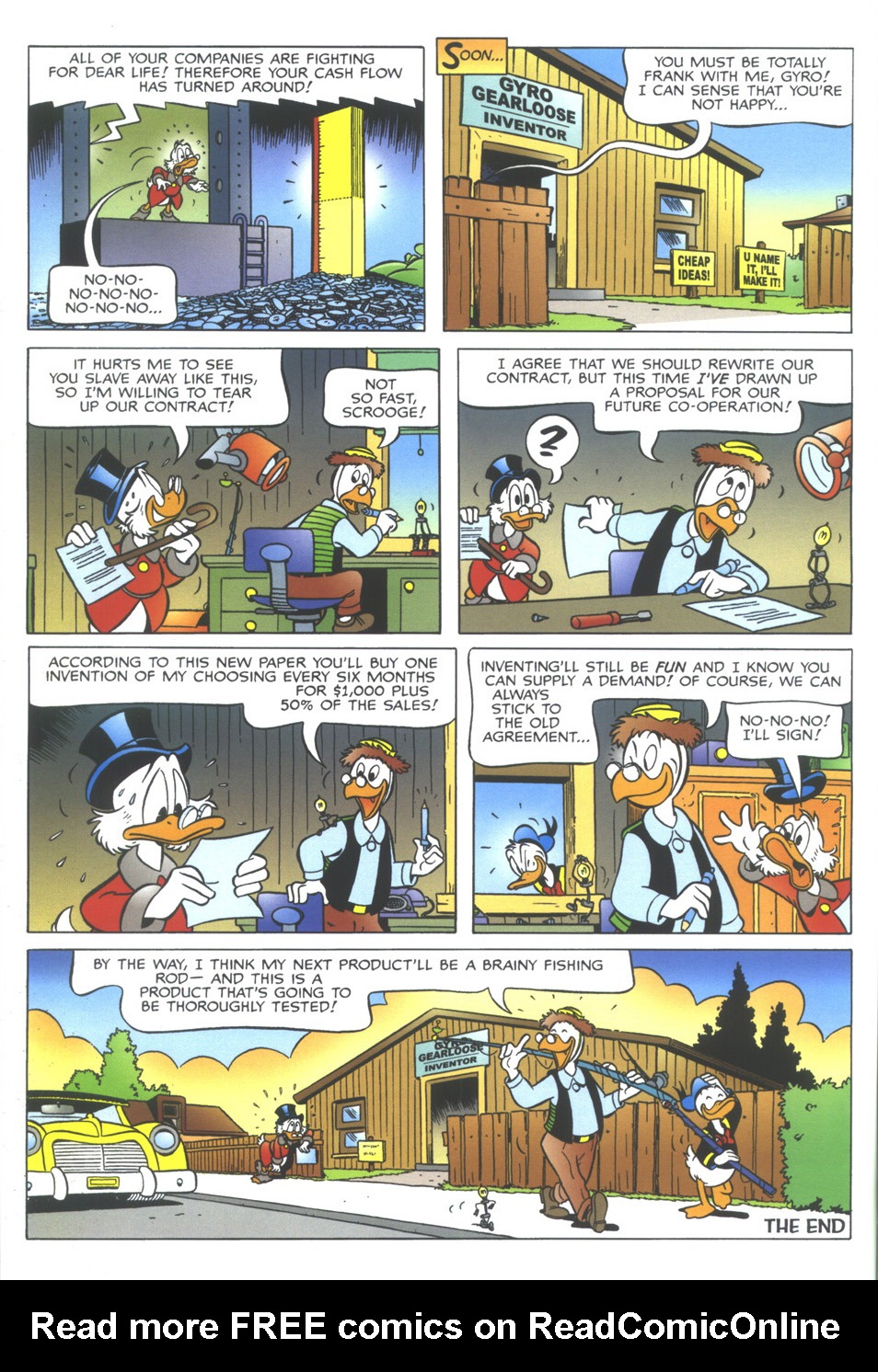 Uncle Scrooge (1953) Issue #349 #349 - English 54