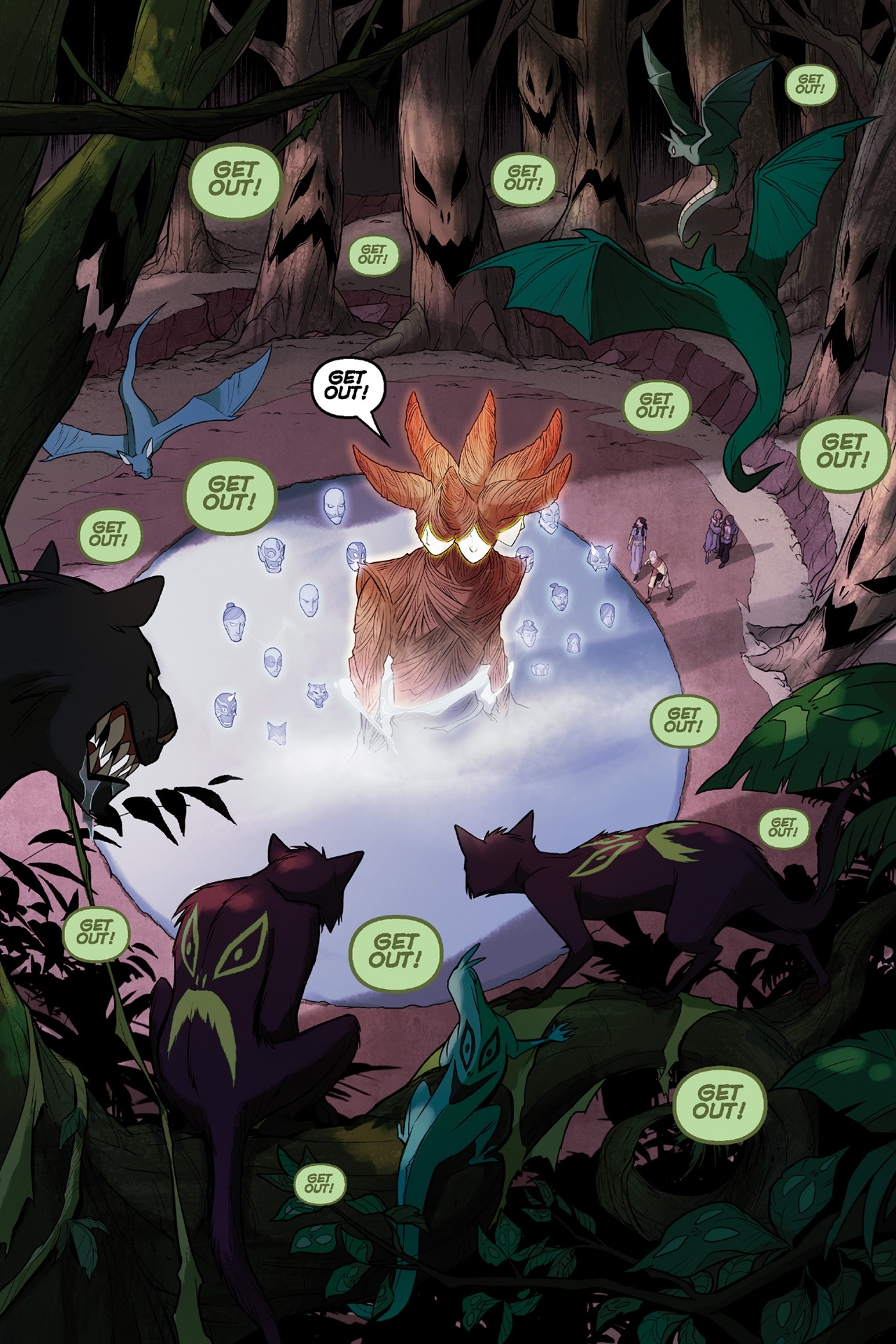Read online Nickelodeon Avatar: The Last Airbender - The Search comic -  Issue # Part 3 - 30
