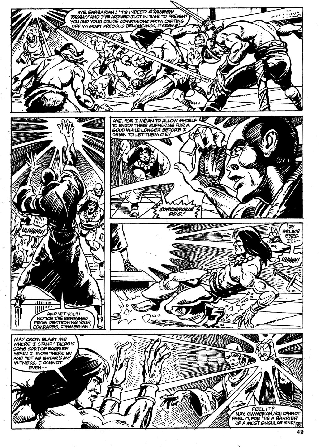 The Savage Sword Of Conan Issue #86 #87 - English 49