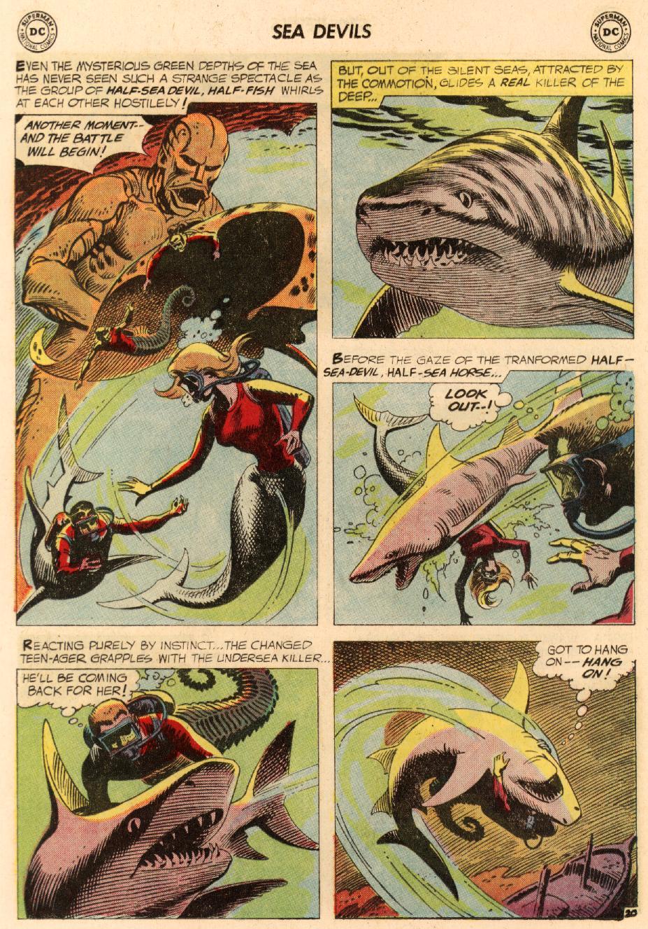 Read online Sea Devils comic -  Issue #8 - 29
