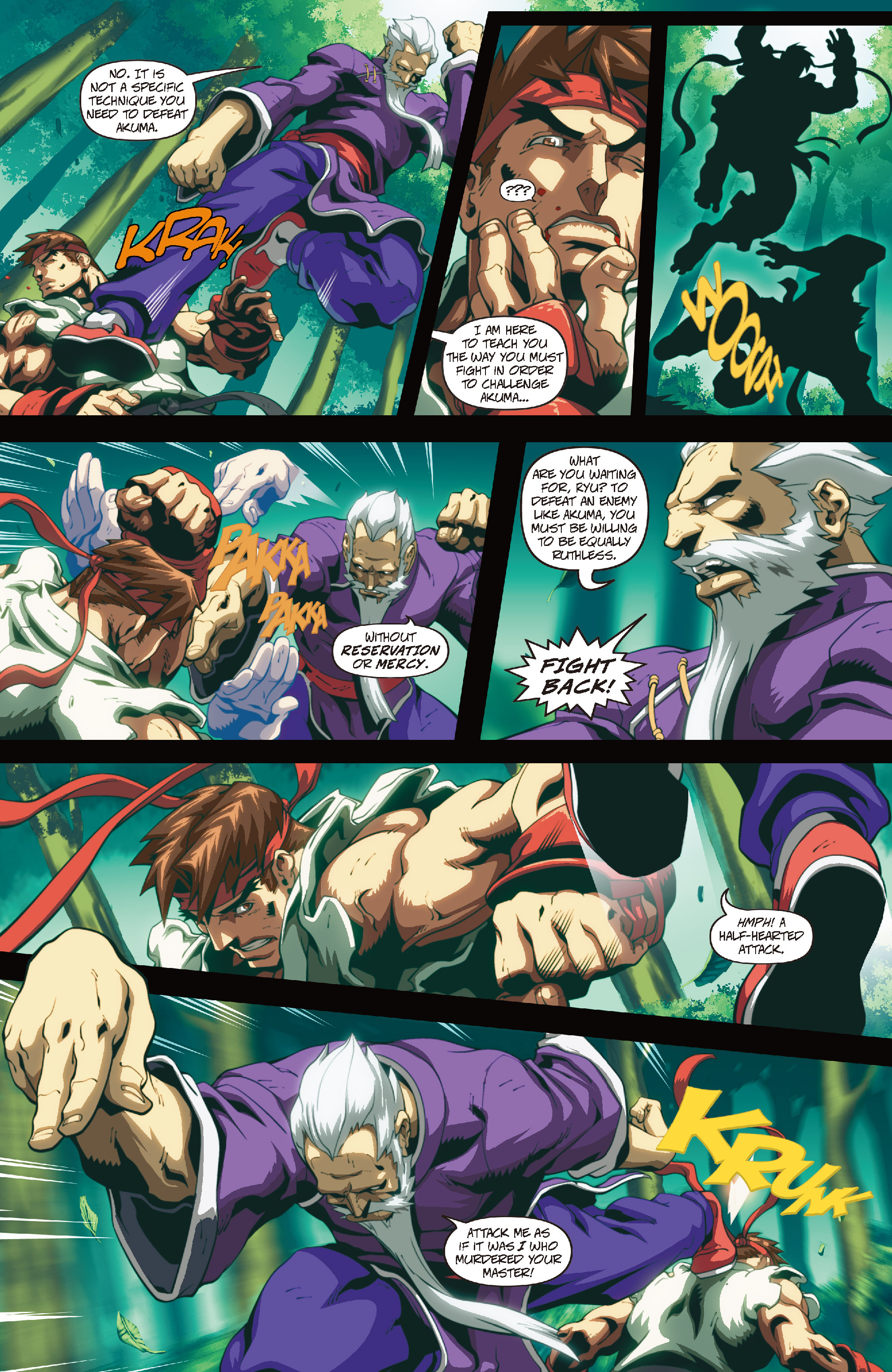 Street Fighter II chap 4 pic 11