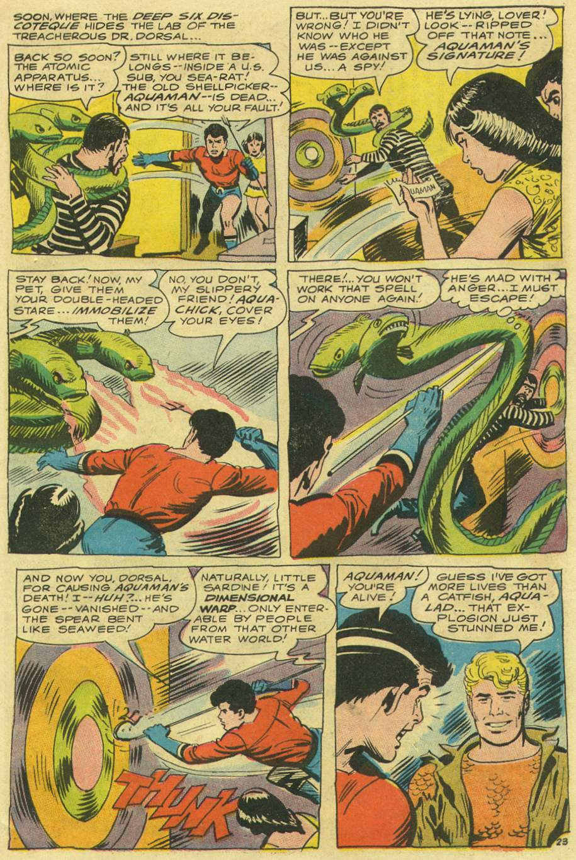 Aquaman (1962) Issue #33 #33 - English 31