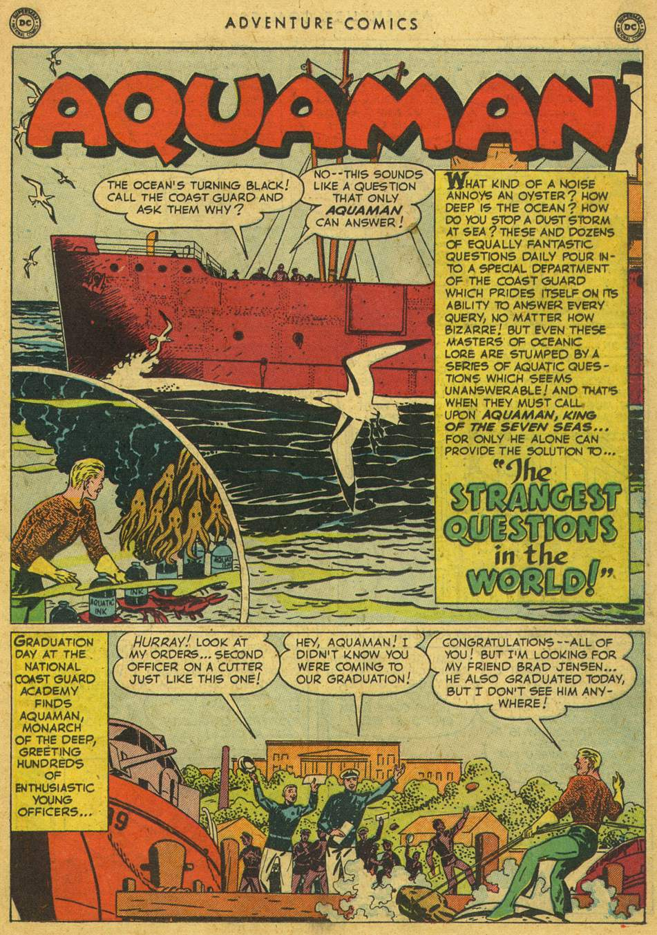 Read online Adventure Comics (1938) comic -  Issue #164 - 27