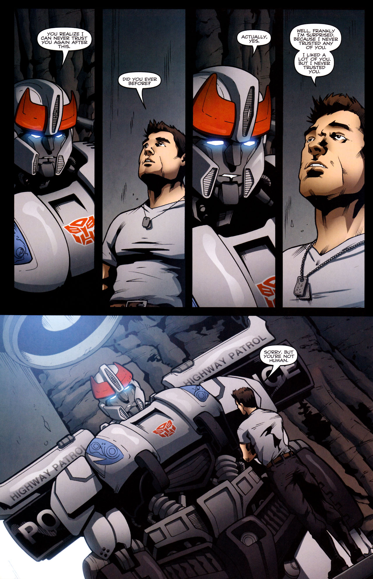 Read online The Transformers (2009) comic -  Issue #29 - 8