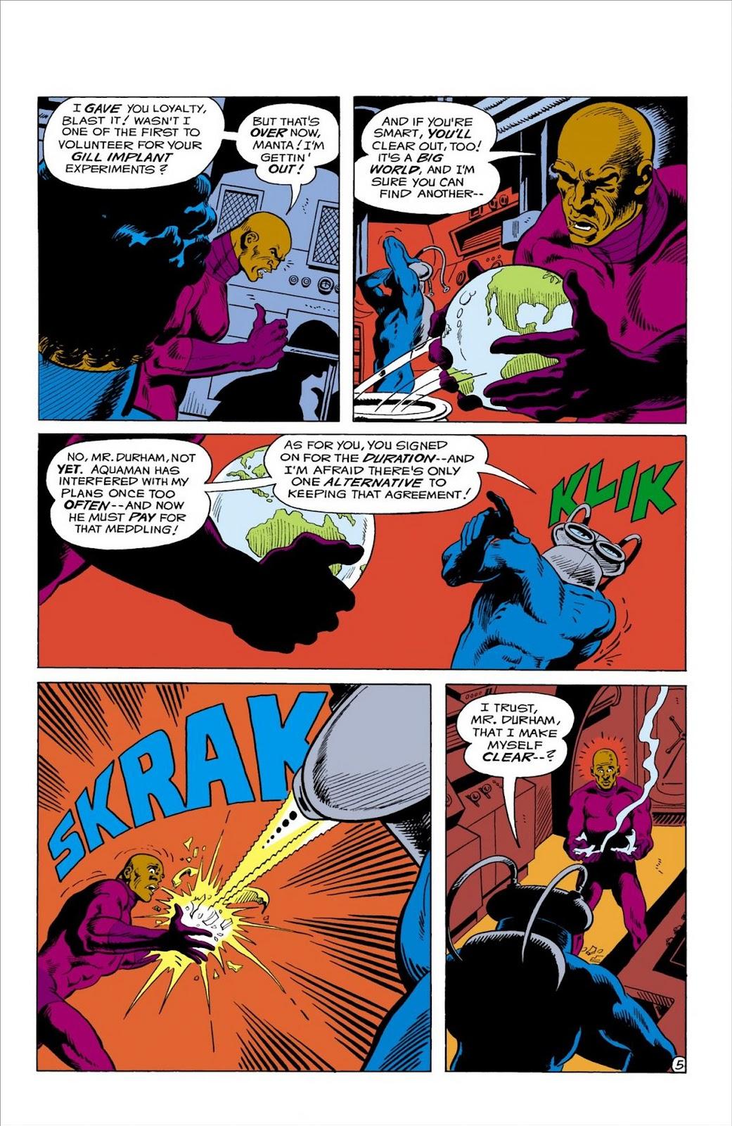 Aquaman (1962) Issue #57 #57 - English 6
