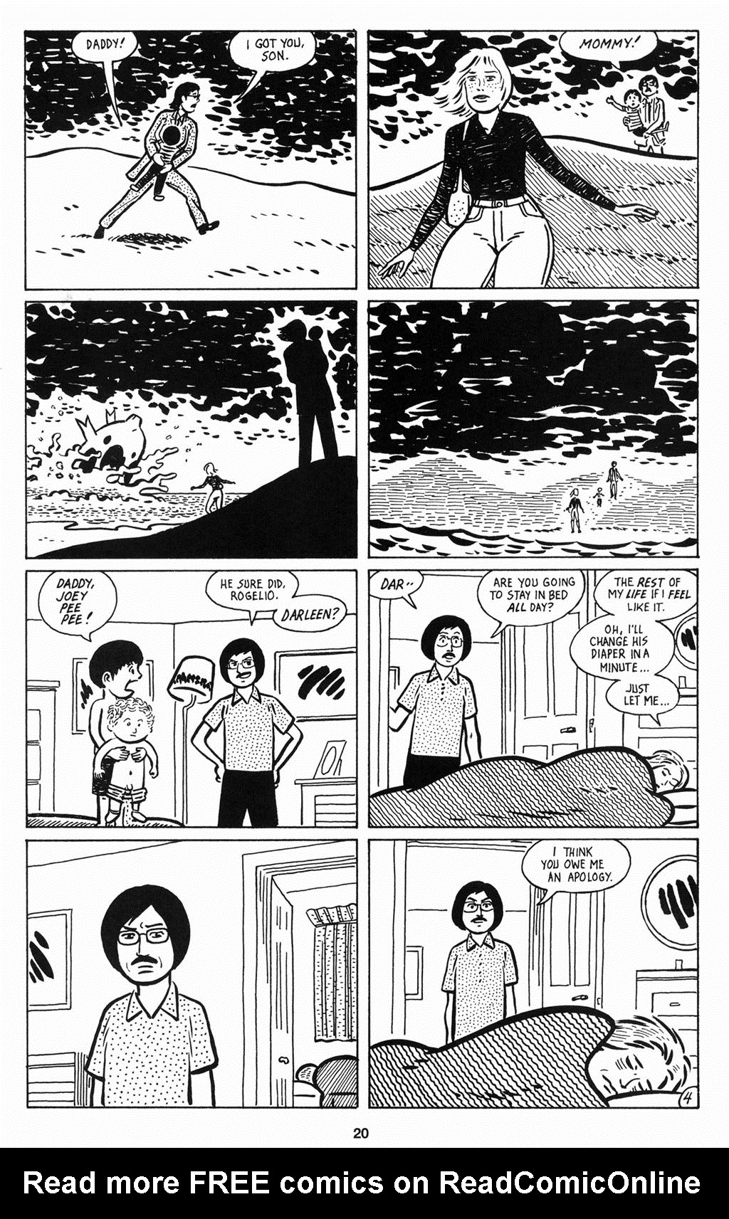 Read online Love and Rockets (2001) comic -  Issue #12 - 21