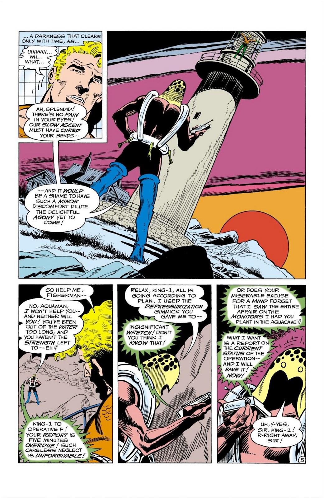 Aquaman (1962) Issue #58 #58 - English 6