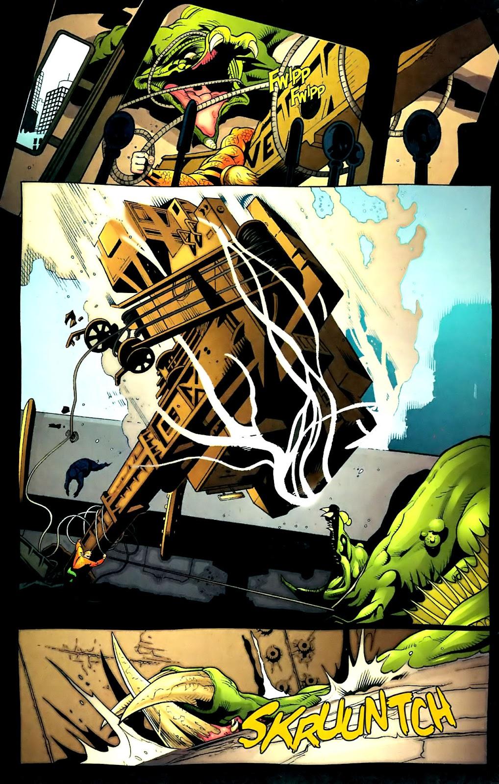Aquaman (2003) Issue #32 #32 - English 14