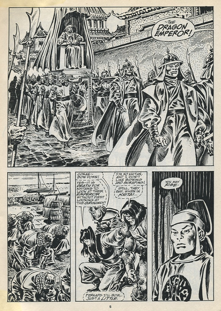 The Savage Sword Of Conan Issue #194 #195 - English 7