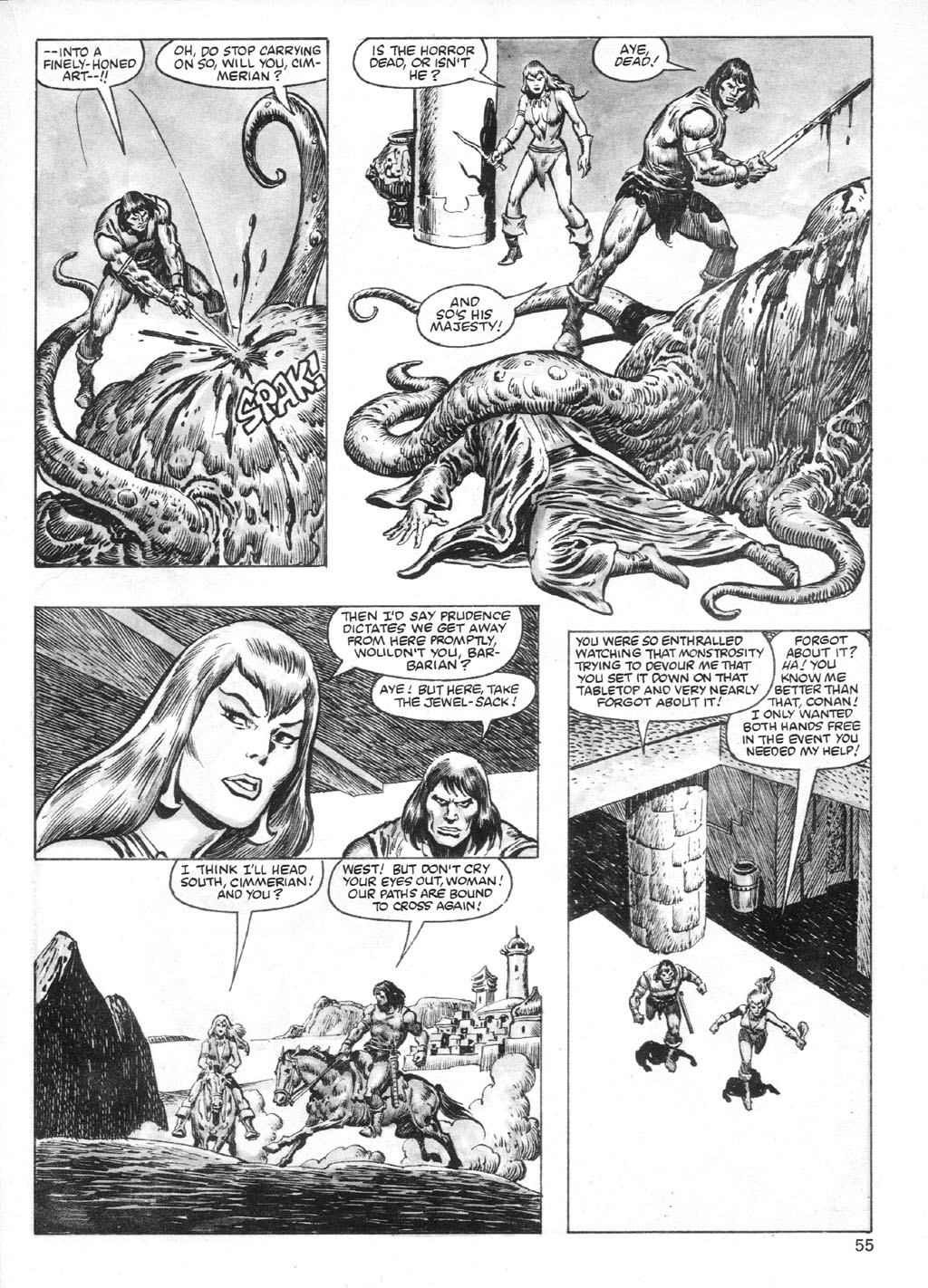 The Savage Sword Of Conan Issue #95 #96 - English 55