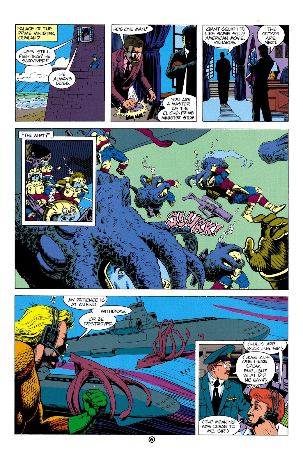 Aquaman (1991) Issue #2 #2 - English 7