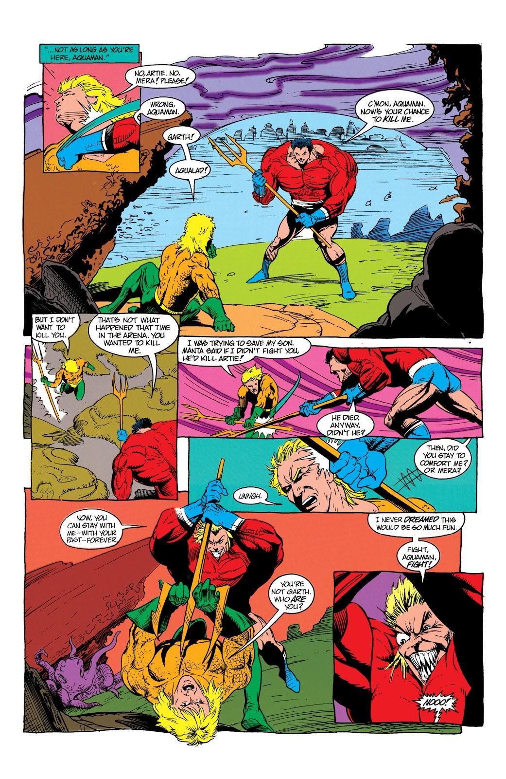 Aquaman (1991) Issue #7 #7 - English 11
