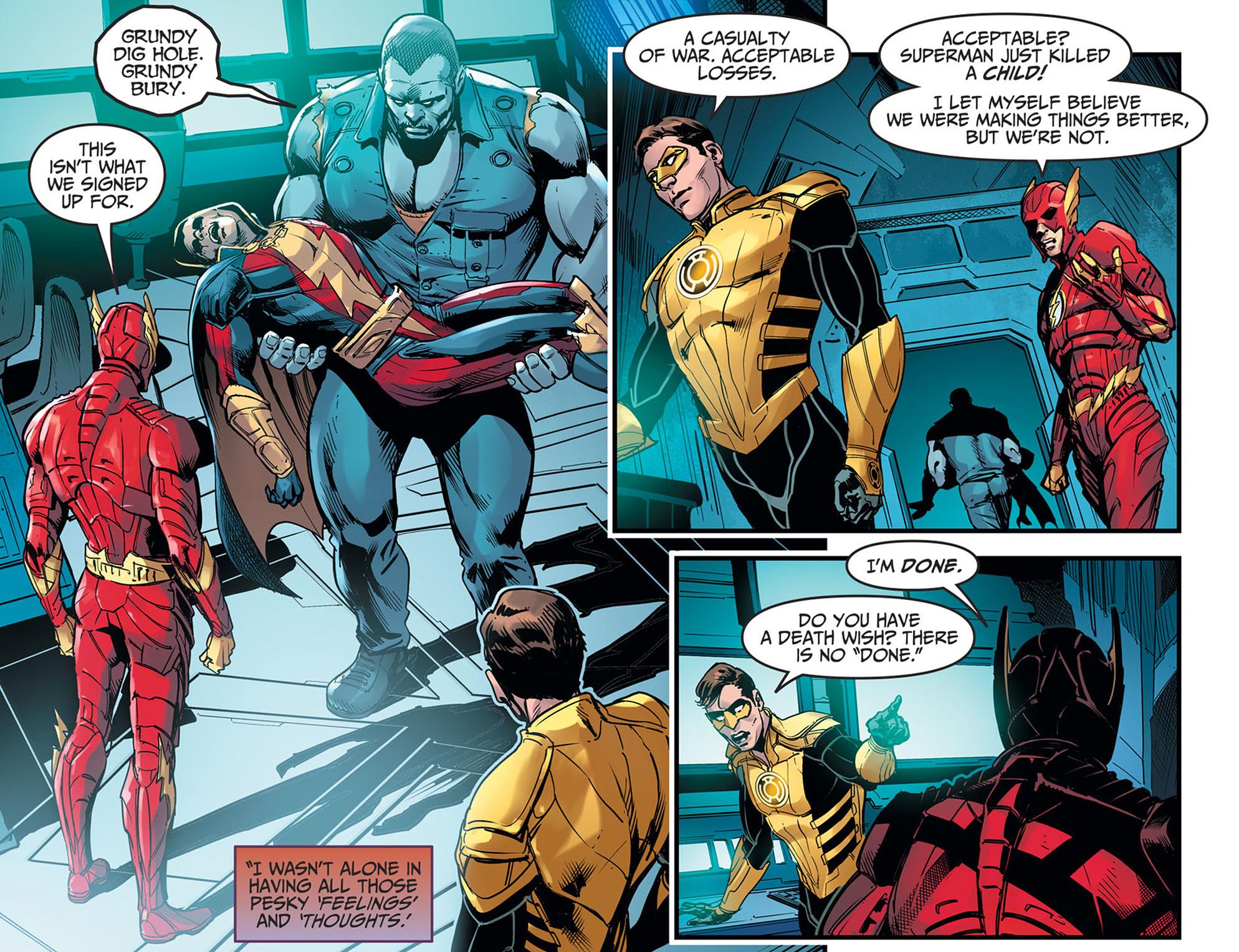 Read online Injustice: Ground Zero comic -  Issue #21 - 6