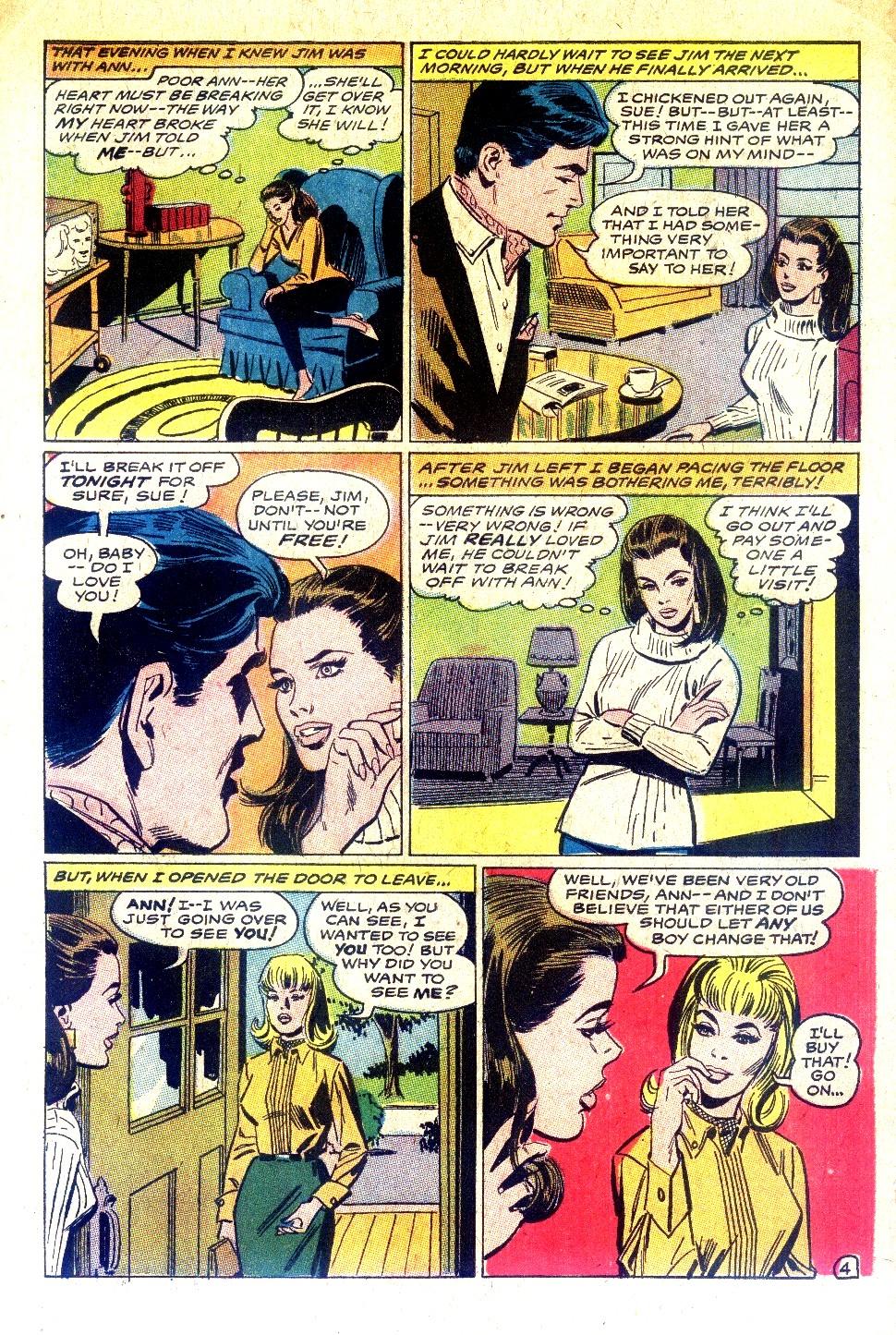 Read online Secret Hearts comic -  Issue #128 - 6