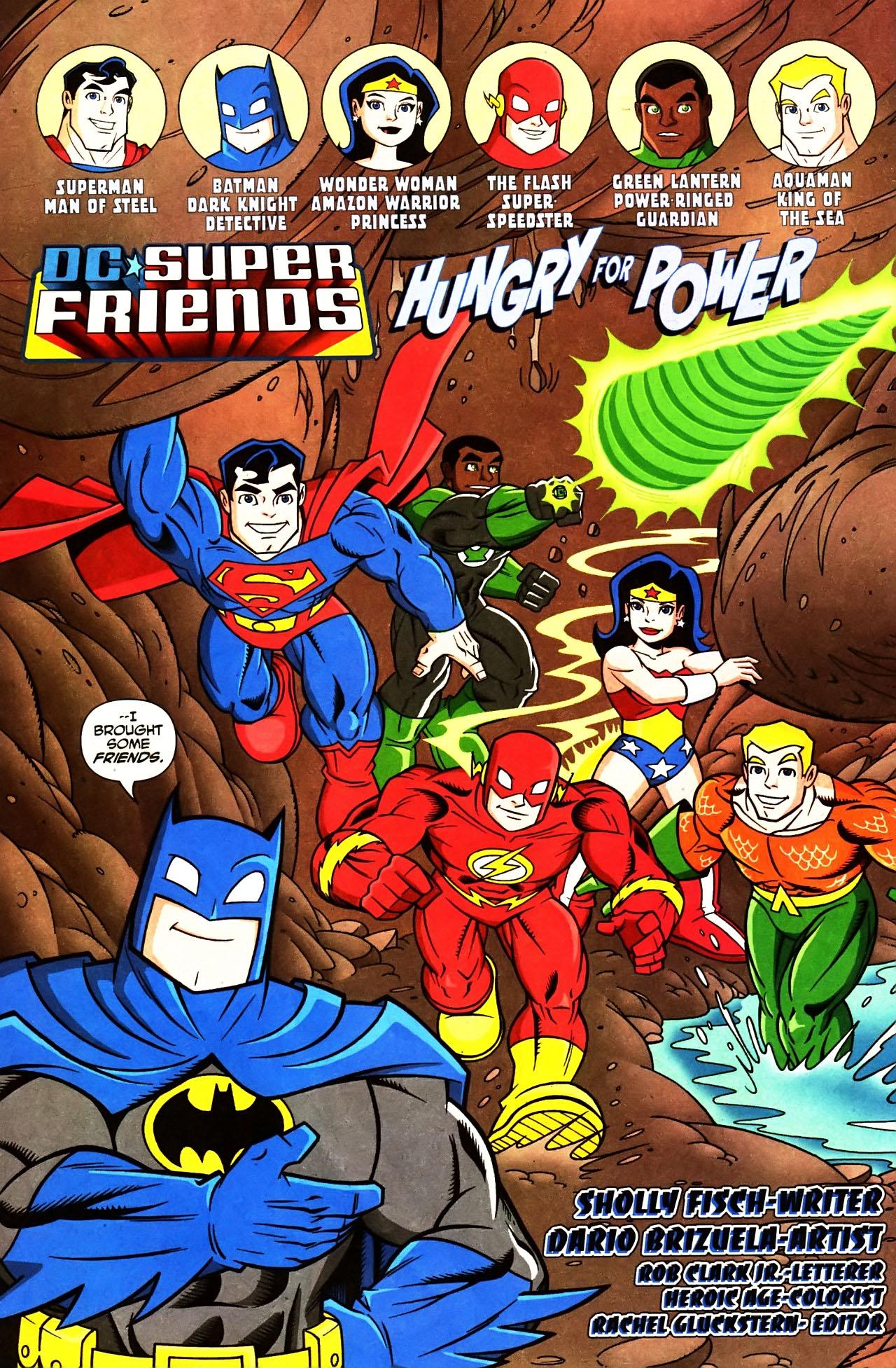 Super Friends #1 #29 - English 4