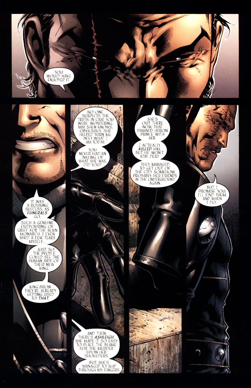 Read online Scion comic -  Issue #15 - 3