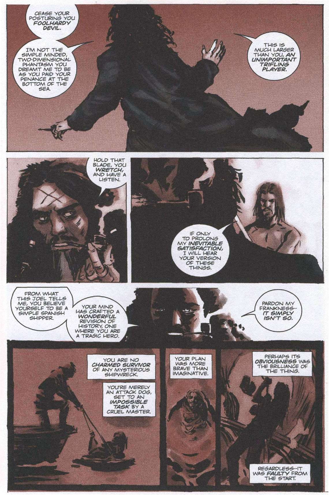 Read online Sea of Red comic -  Issue #6 - 10