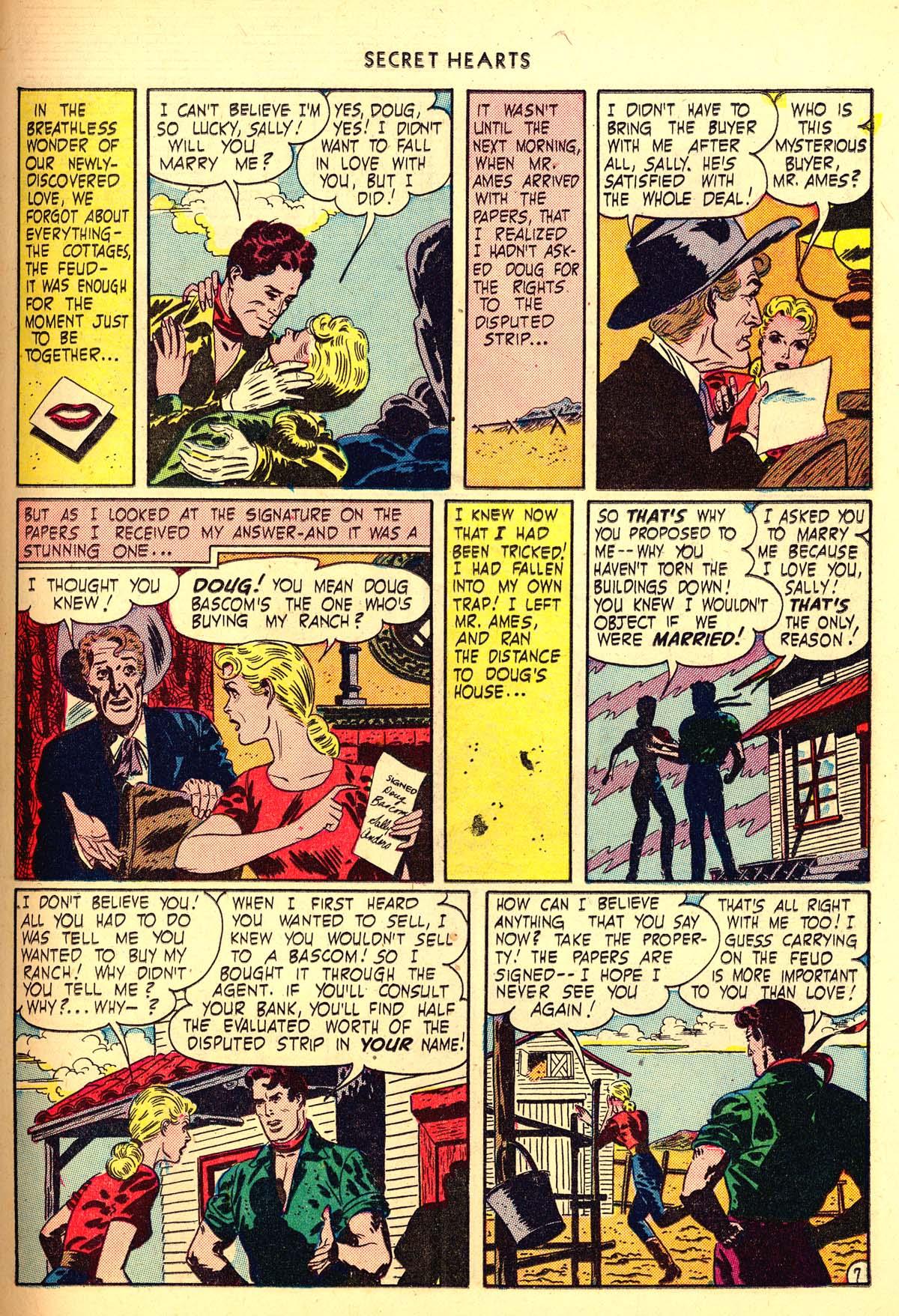 Read online Secret Hearts comic -  Issue #6 - 27