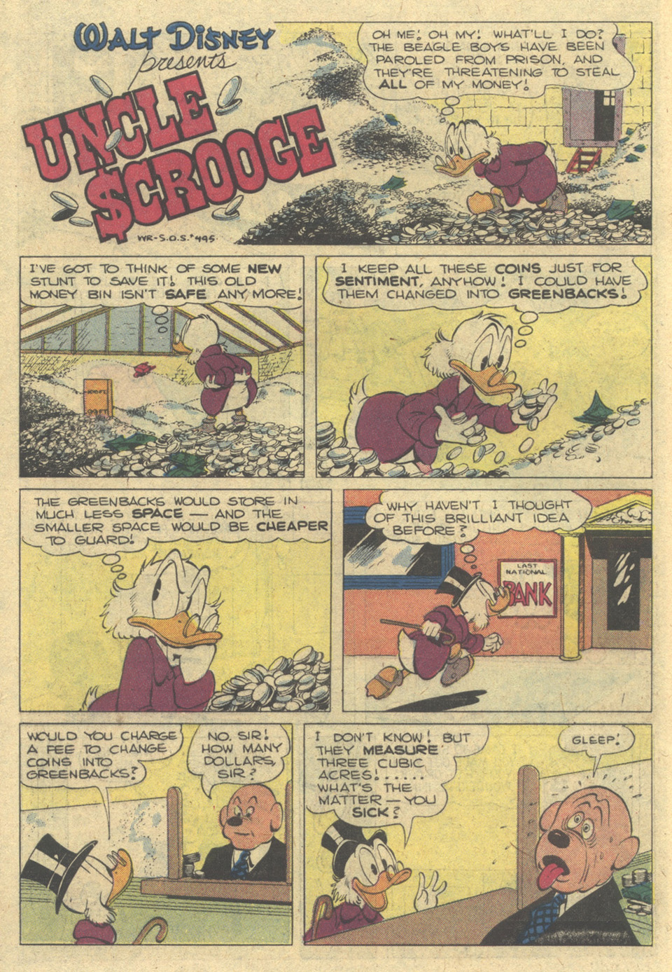 Uncle Scrooge (1953) Issue #172 #172 - English 10