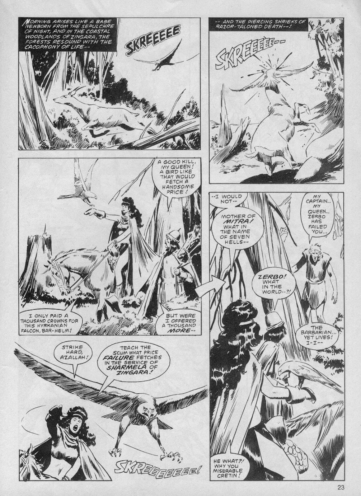 The Savage Sword Of Conan Issue #61 #62 - English 23