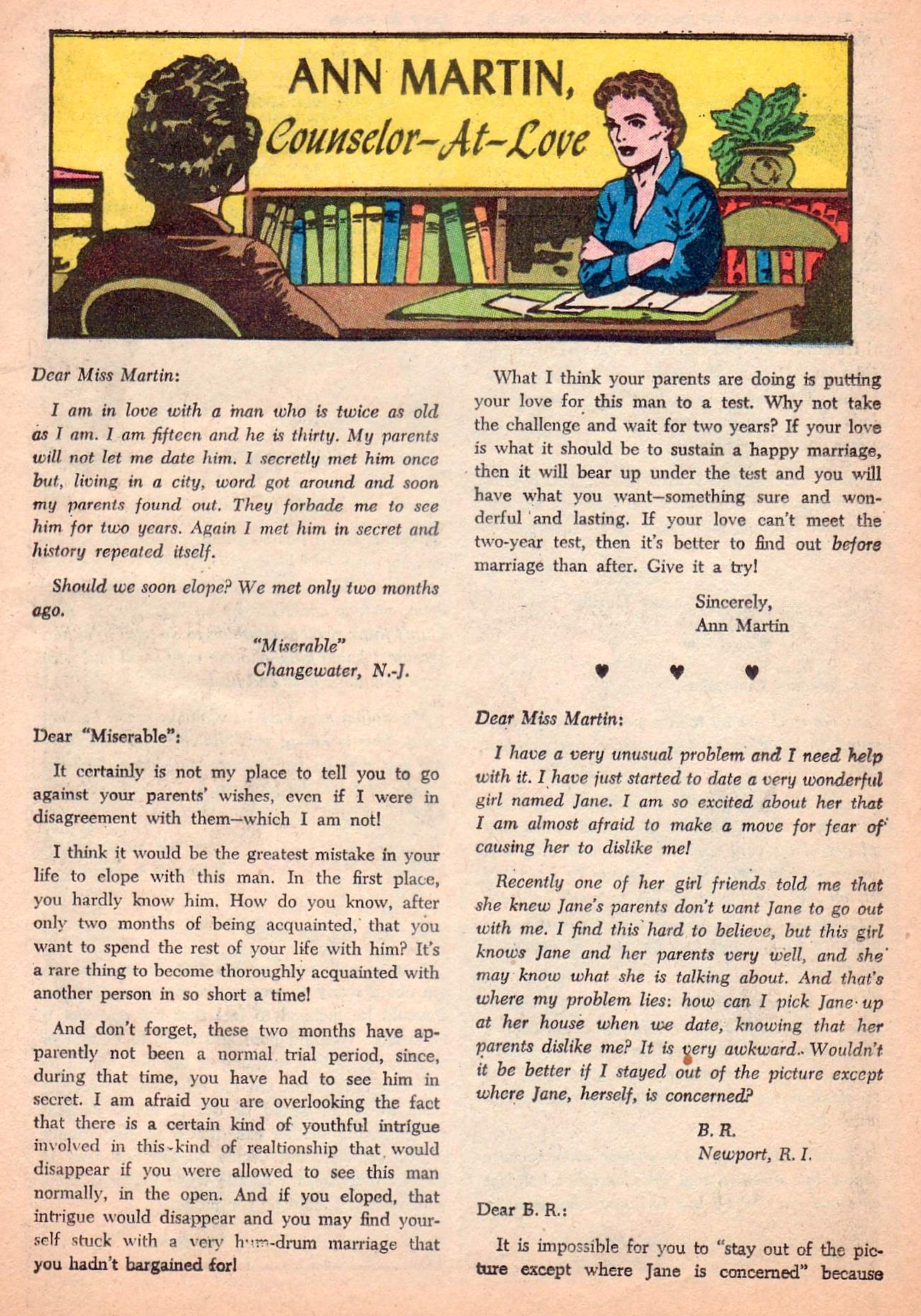 Read online Secret Hearts comic -  Issue #63 - 25