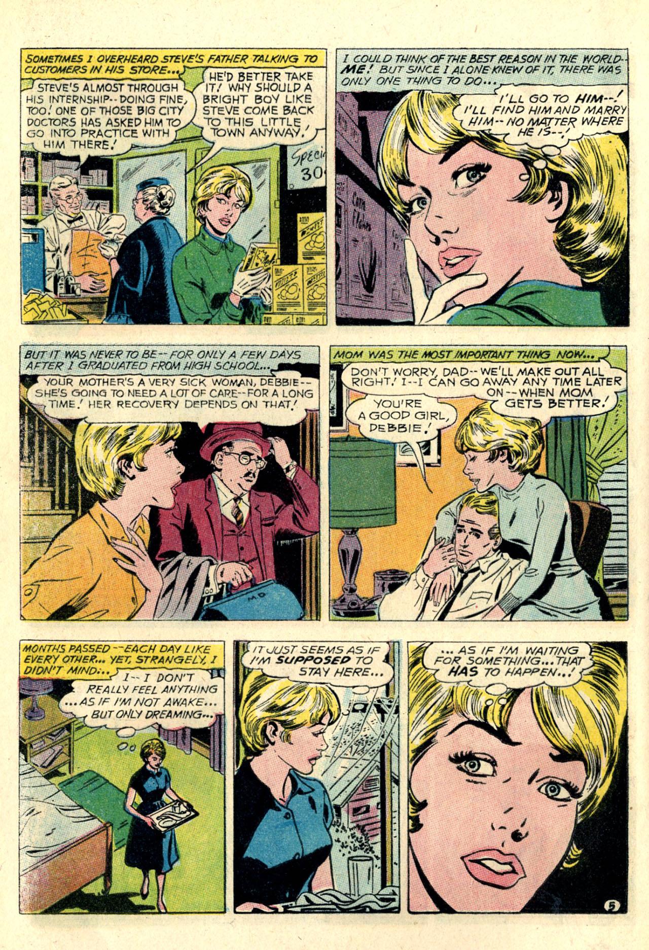 Read online Secret Hearts comic -  Issue #127 - 16