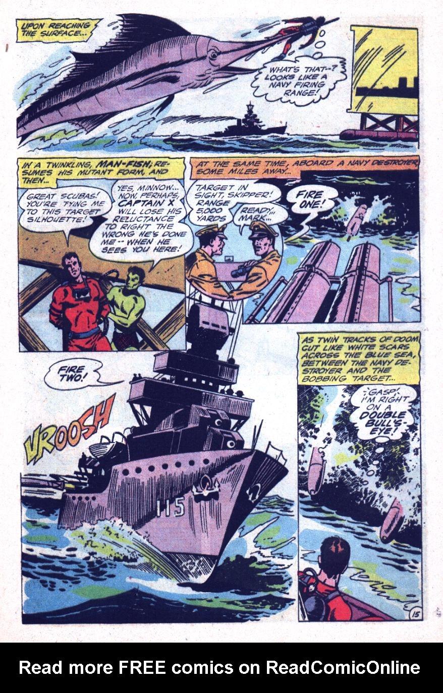 Read online Sea Devils comic -  Issue #26 - 22