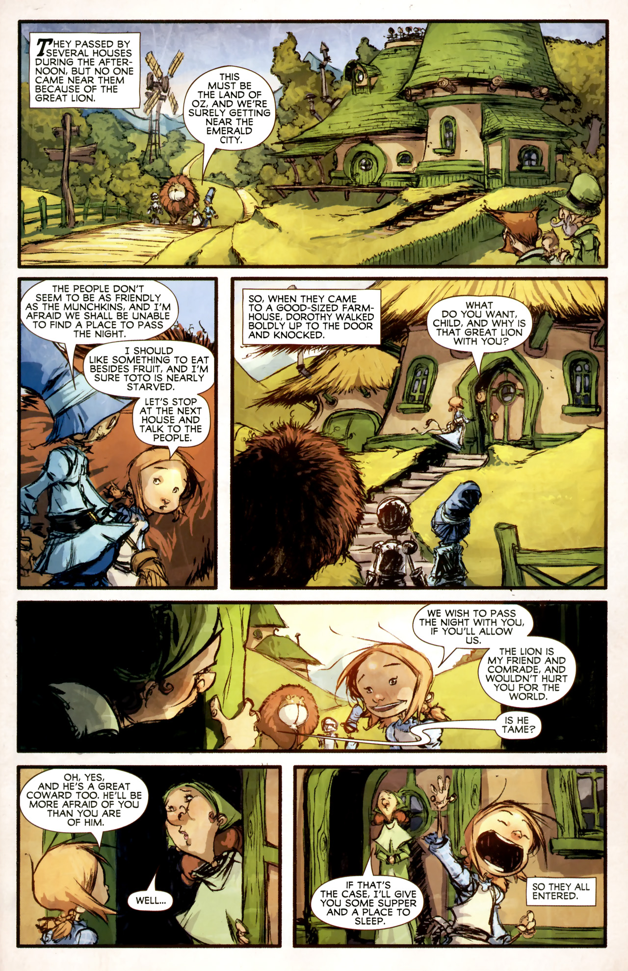 Read online The Wonderful Wizard of Oz comic -  Issue #4 - 4